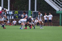 10..23【練習試合】國學院戦 第一試合